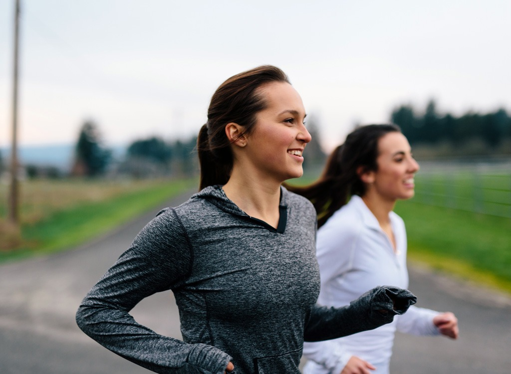 Women running - how to beat weight loss plateau