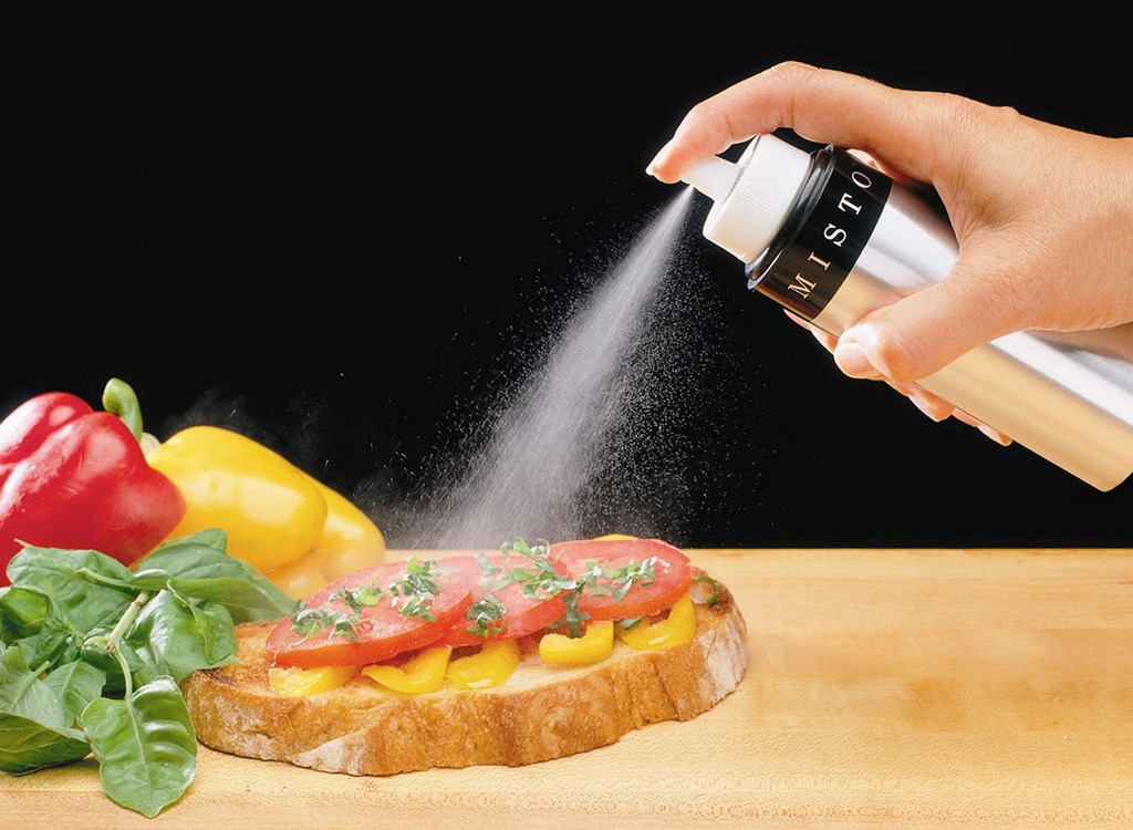 Cooking oil spray