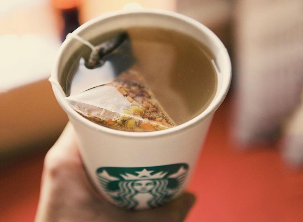 Cold Buster Starbucks order