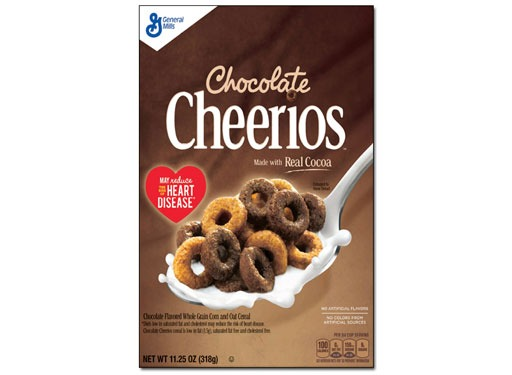 flavored chocolate fruity cheerios
