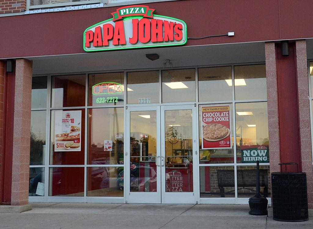 papa johns locations