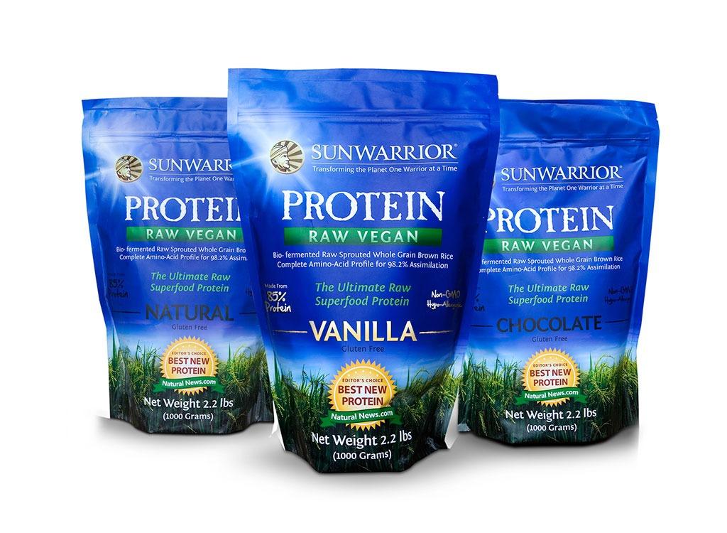 sunwarrior vegan protein powder