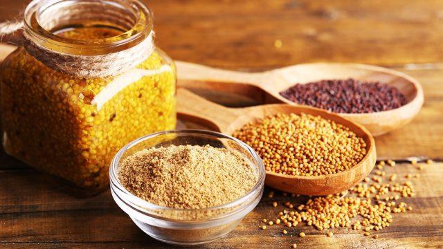 Musard seed grain