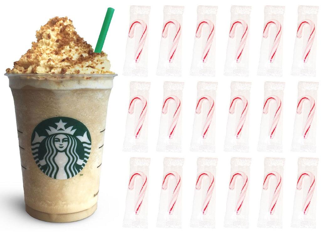 gingerbread frappuccino