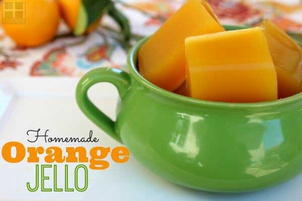 07. Homemade Orange Jello