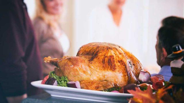 Turkey roasted
