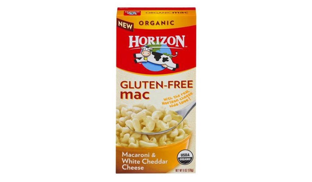 horizon gluten-free macaroni & white cheddar cheese