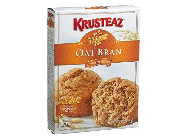 krusteaz oat bran  supreme muffin mix