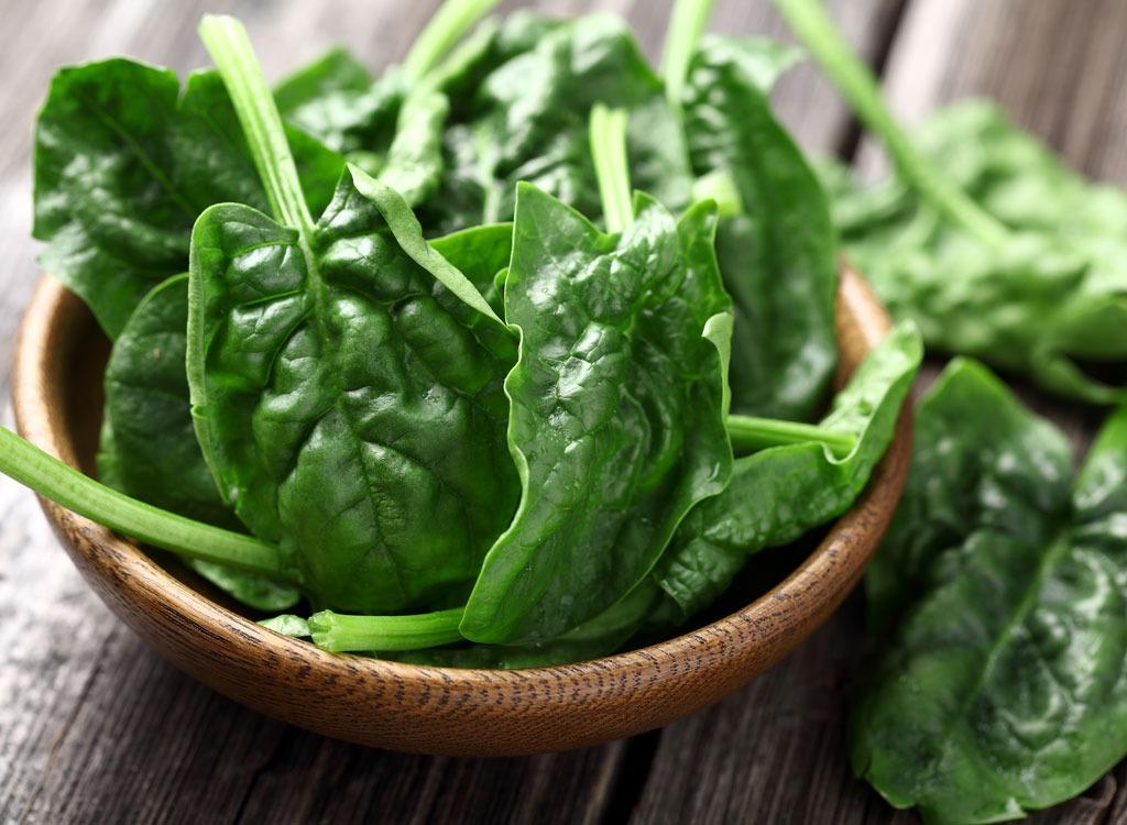mature spinach