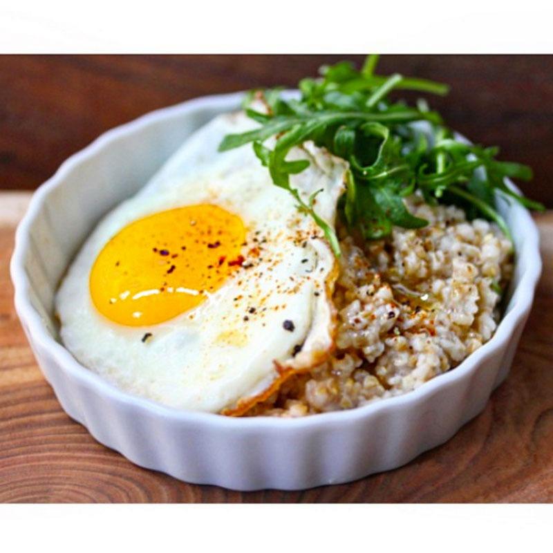 Savory oatmeal bostonfoodphoto