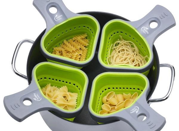jokari healthy steps portion control pasta basket