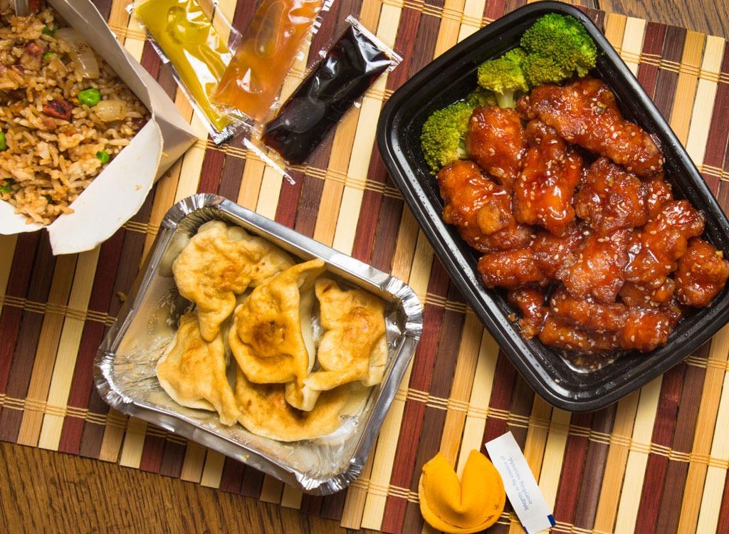 Dumplings chicken soy sauce