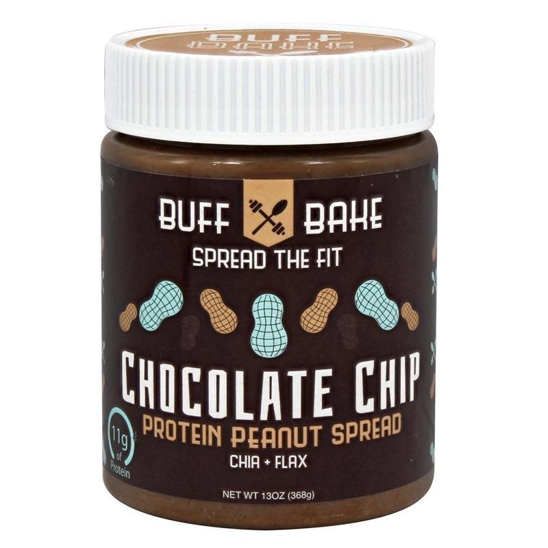 buff bake protein peanut spread chocolate chip