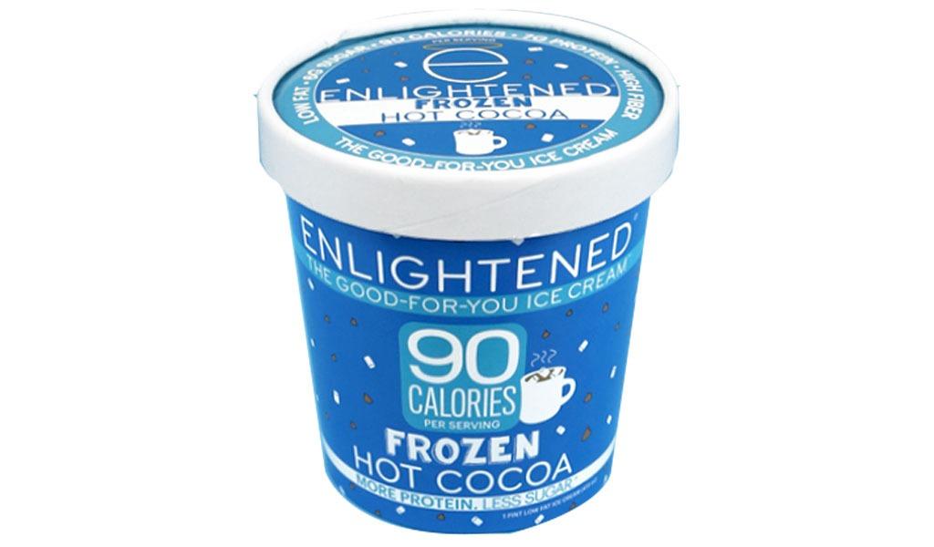 Enlightened frozen hot cocoa