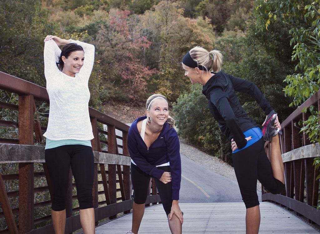 Motivational tips friends running