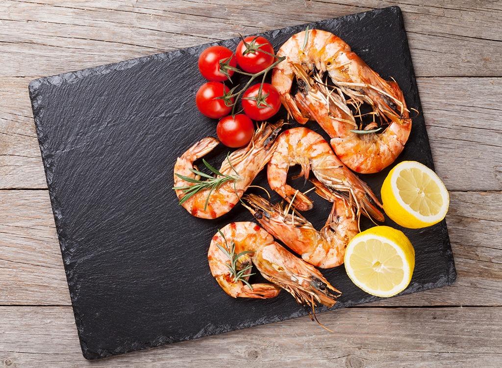 Fish ranked Shrimp