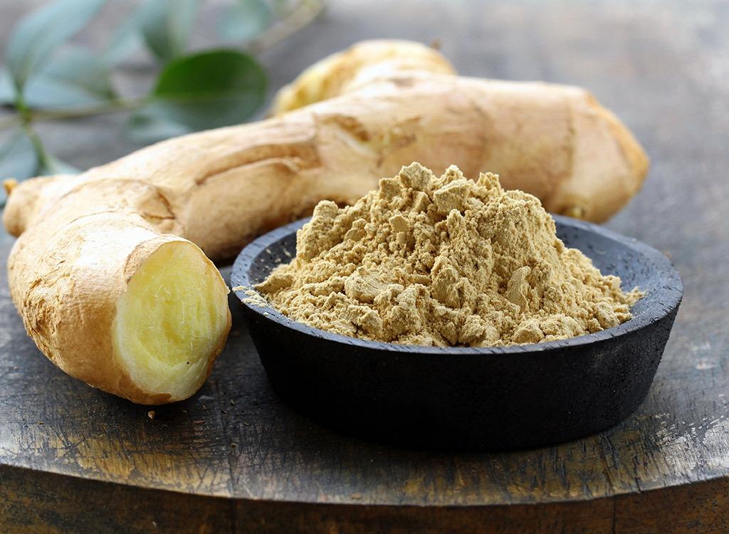 foods for better sex - ginger