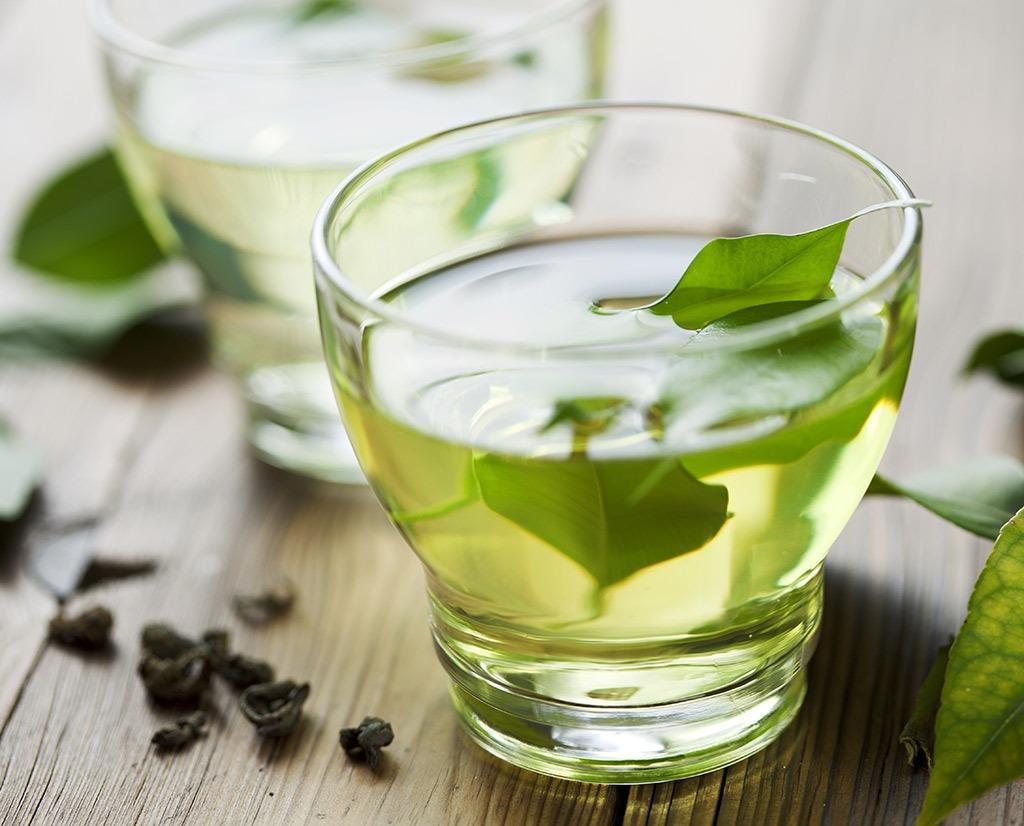 best hangover cure foods - green tea