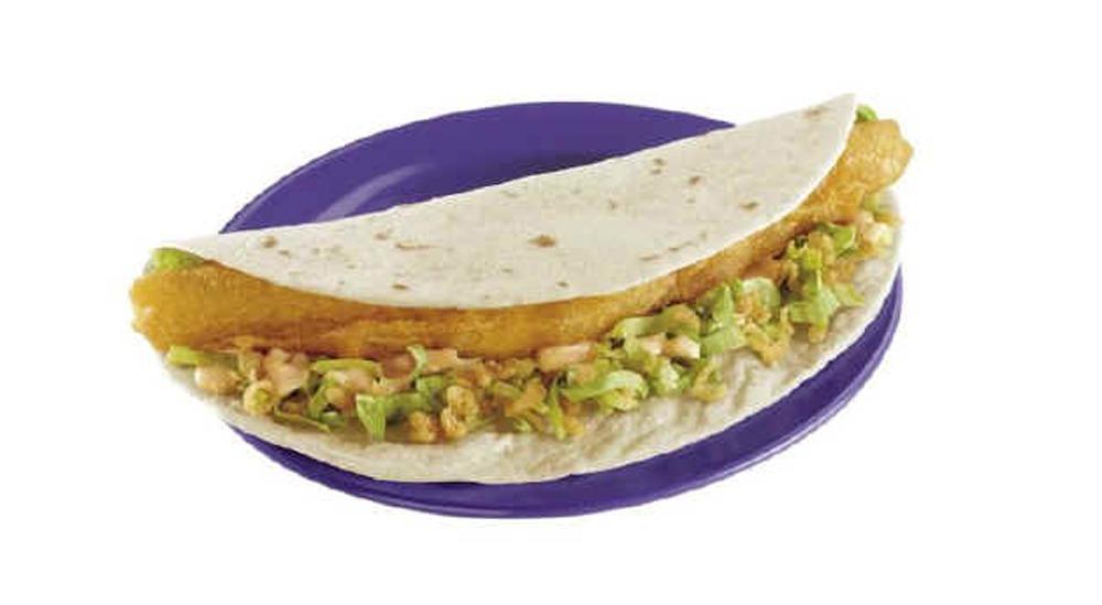 long john silver baja fish taco