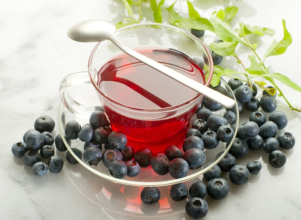 best teas for weight loss - bilberry tea