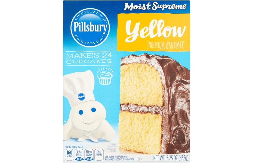 Pillsbury Moist Supreme Yellow Premium Cake Mix