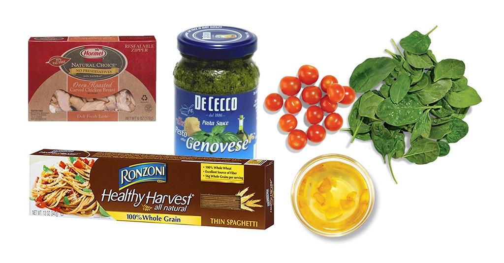 whole grain pasta ingredients
