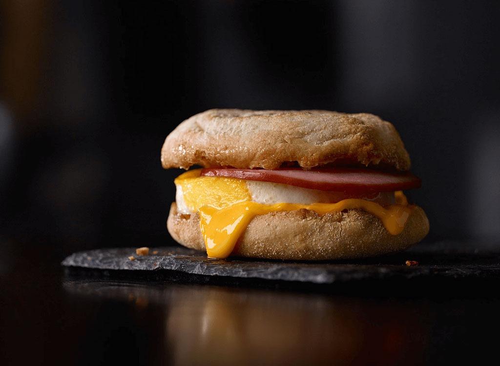 McDonalds egg mcmuffin