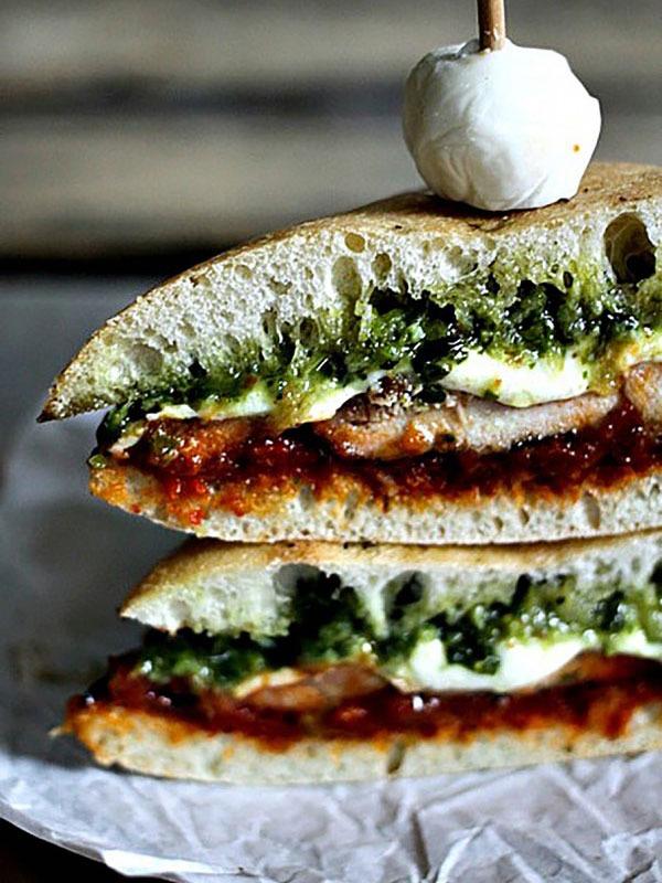 Desk lunch recipes chicken melt
