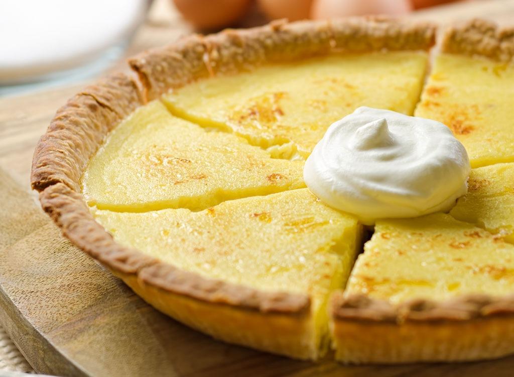 whole custard pie