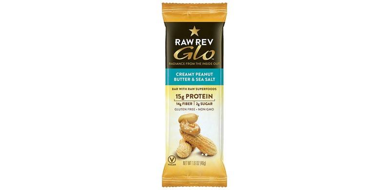 Raw Rev Glo Creamy Peanut Butter Sea Salt