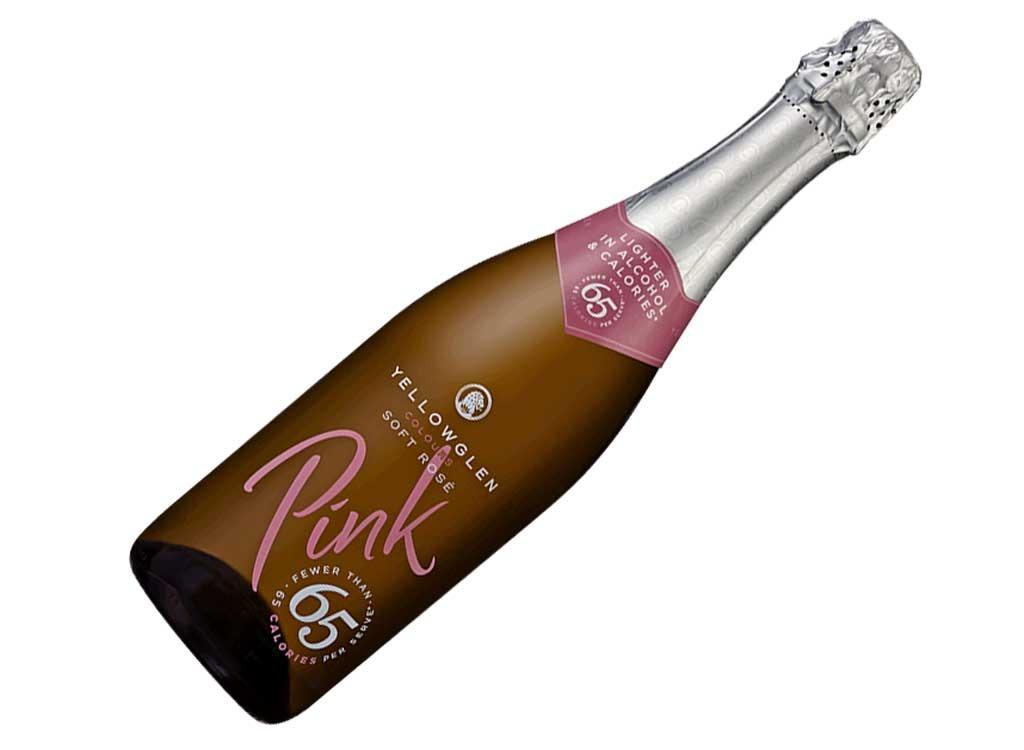 yellowglen sparkling pink 65 soft rosé