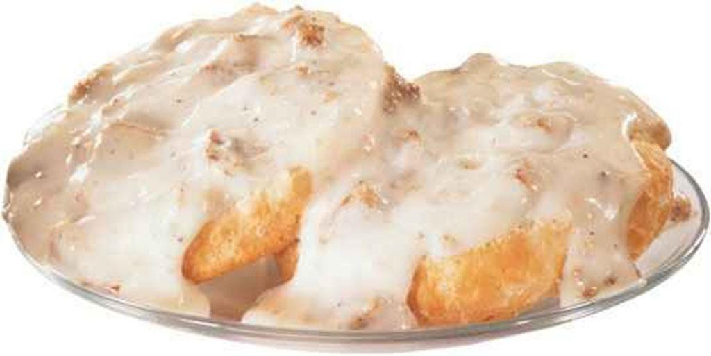 hardees biscuit n gravy