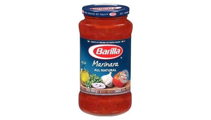 Pasta sauce ranked