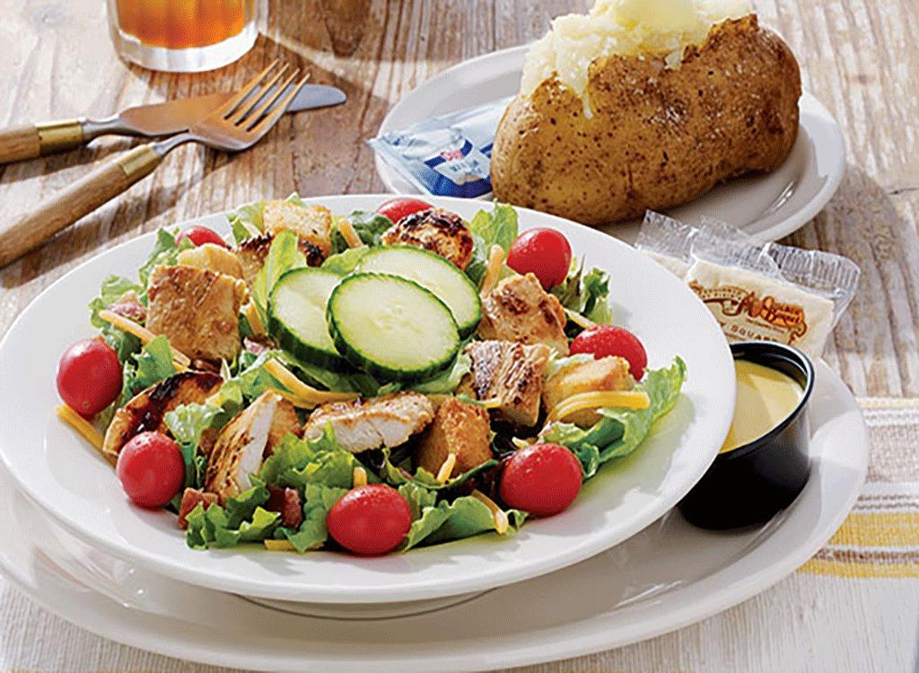 cracker barrel country salad grilled chicken