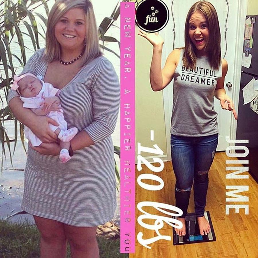 Sarah Beasley, 120 pounds