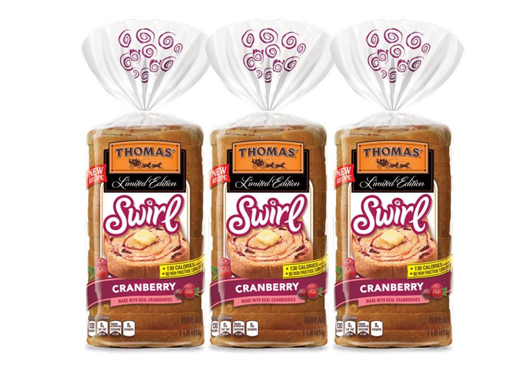 Tomas' Cranberry Swirl bread