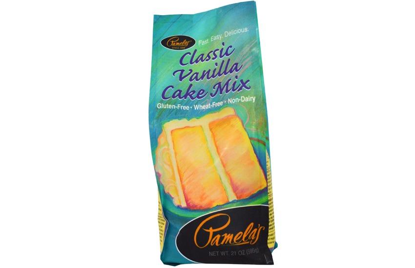 Pamelas Gluten Free Vanilla Cake Mix