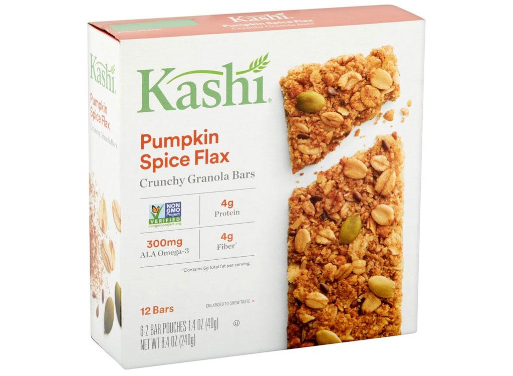 kashi pumpkin flax granola bars