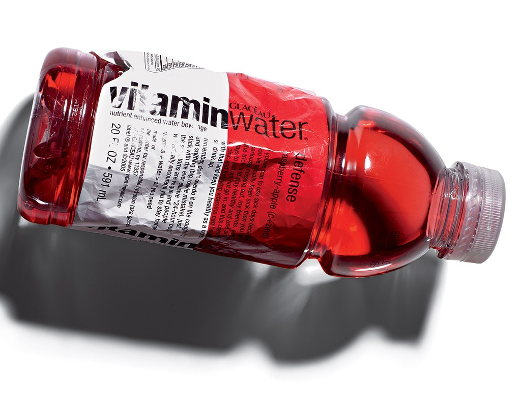 Crushed vitaminWater