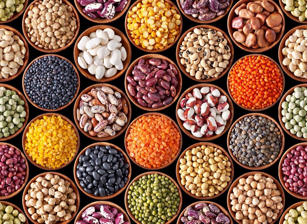 beans legumes pulses