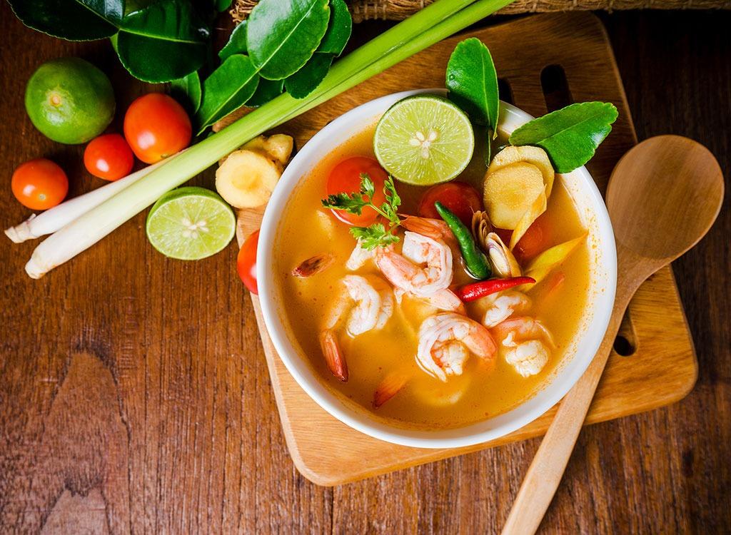 lemongrass thai soup