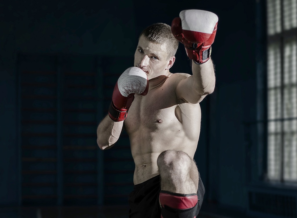 weight loss tips from experts - muay thai fighter