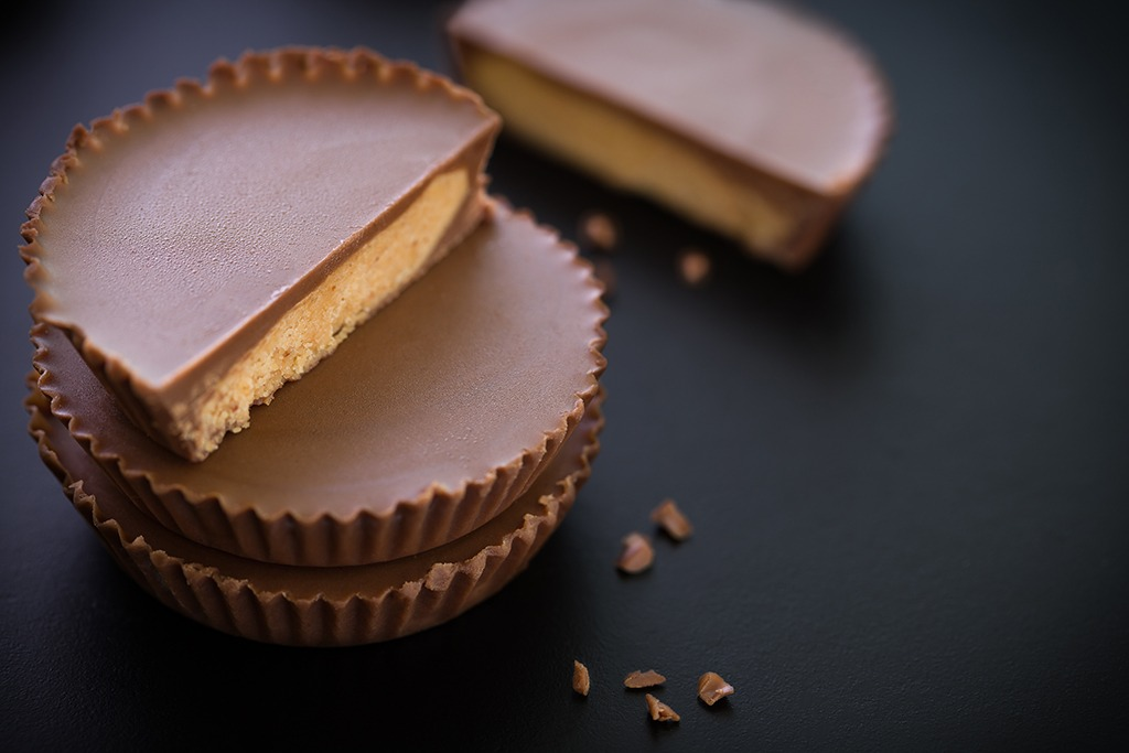 Peanut butter cups candy