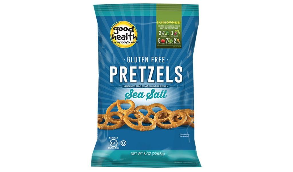 good health gluten free pretzels sea salt