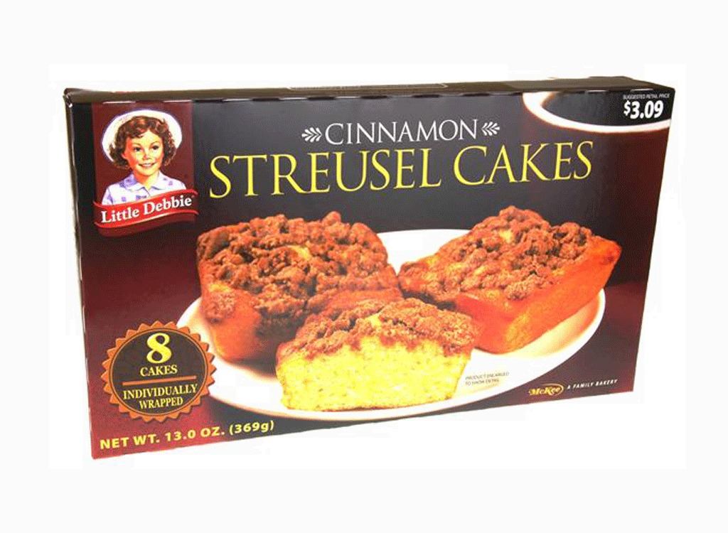 cinnamon streusel cakes