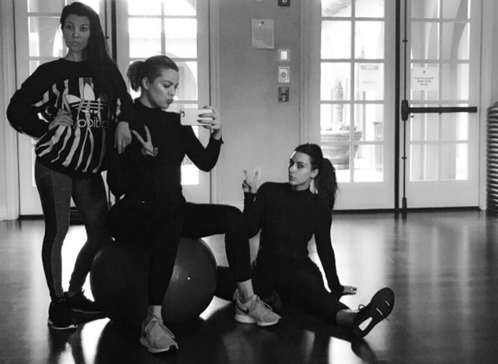 khloe kardashian instagram workout