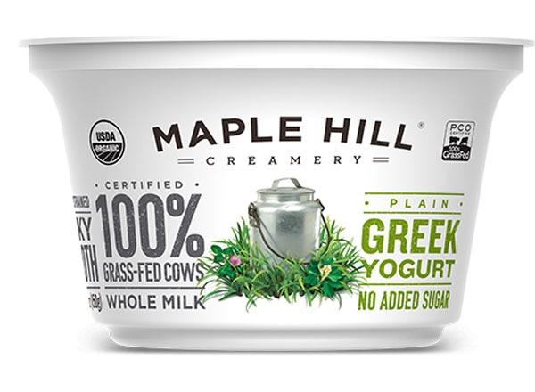 Maple Hill Creamery Whole Milk Greek Yogurt Plain