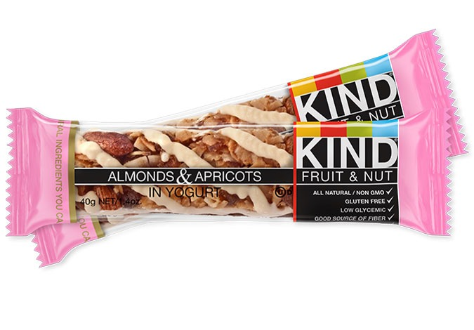 KIND ALMONDS and APRICOTS IN YOGURT