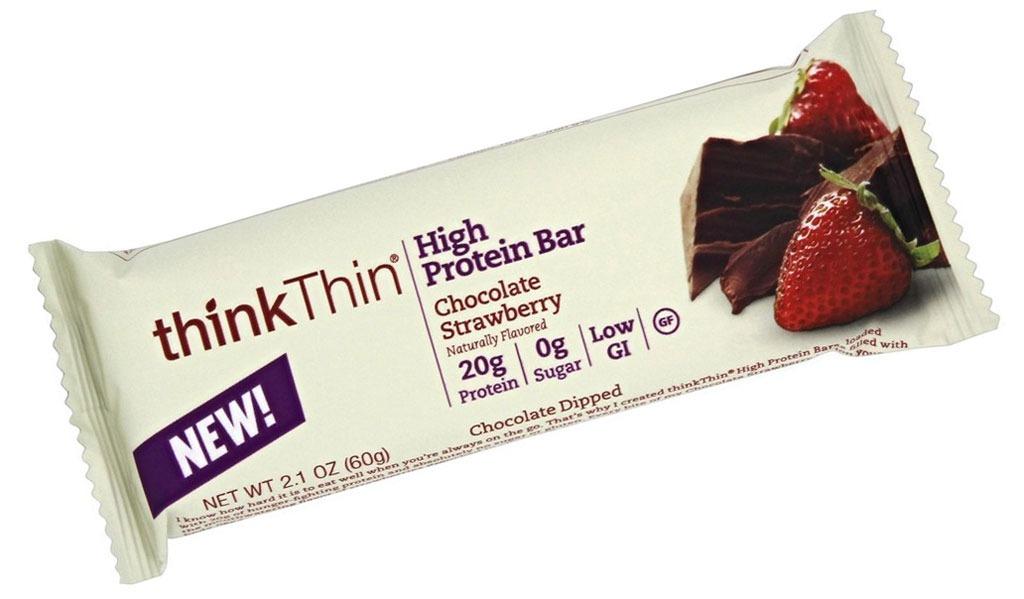 think thin chocolate strawberry