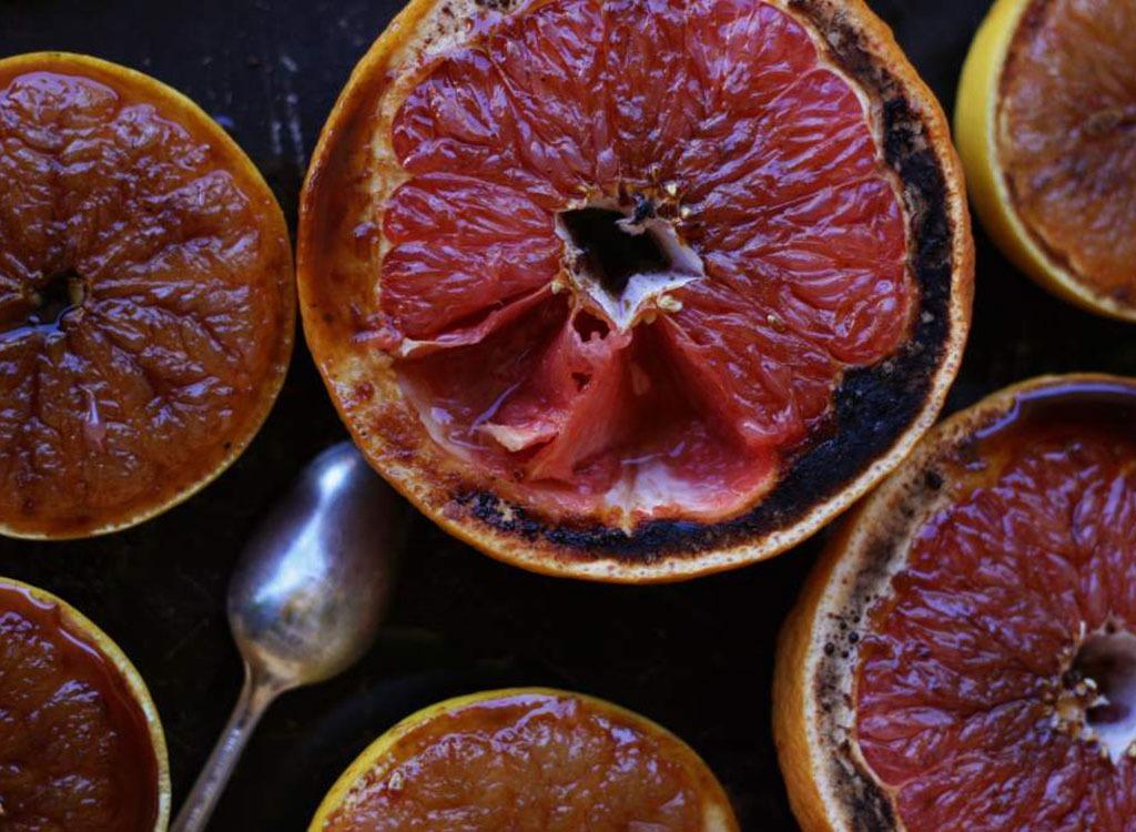 charred grapefruit